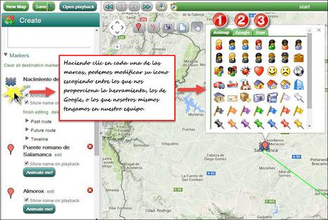 En marcha con las TIC - Tus mapas cobran vida con Animaps   Online Learning: More Than Just a MOOC #SPANISH   Scoop.it