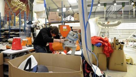 Ces start-ups qui créent sacs et accessoires à partir de voiles de bateaux   Métiers, emplois et formations dans la filière cuir   Scoop.it