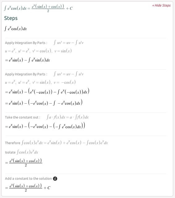 symbolab math solver step by step calculator