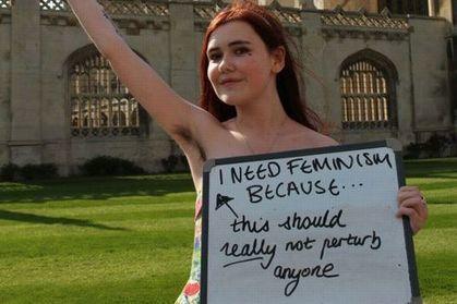 Le féminisme, nouveau combat des étudiants de Cambridge | A Voice of Our Own | Scoop.it