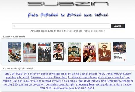 Movie Quotes - Subzin.com | Technology Ideas | Scoop.it