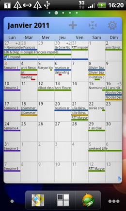 Pure Grid calendar widget v2.4.8 | ApkLife-Android Apps Games Themes | Android Applications And Games | Scoop.it