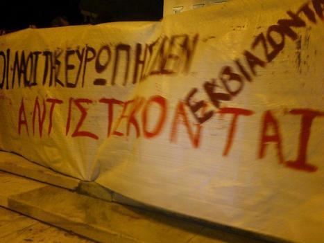 Unprecedented in Athens: Pro gov't rally to protest ECB decision | P2P search for New Politics & Economics | Scoop.it