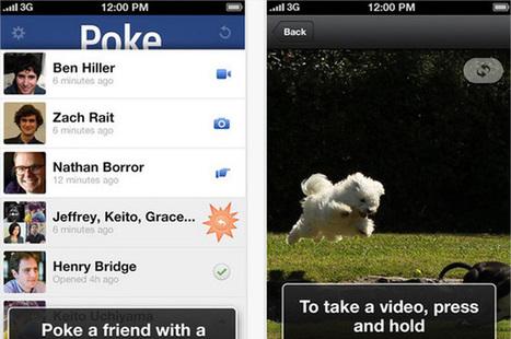 Poke, la nuova app di Facebook per mandare messaggi che si autodistruggono | Social Media War | Scoop.it