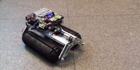 Robot with Omnidirectional Wheels   Heron   Scoop.it