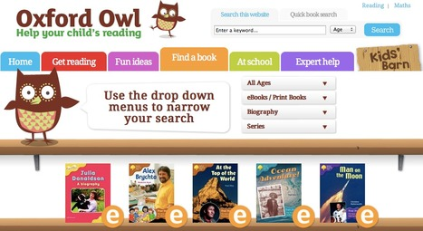 Free children's ebooks for ages 3-11 | Oxford Owl | Perspectives in Education | Scoop.it