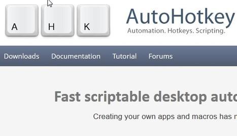 AutoHotkey | Hub Manager | Scoop.it