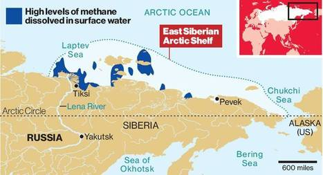 Arctic releasing vast amounts of  enormous methane plumes directly into earth's atmosphere. | OUR OCEANS NEED US | Scoop.it