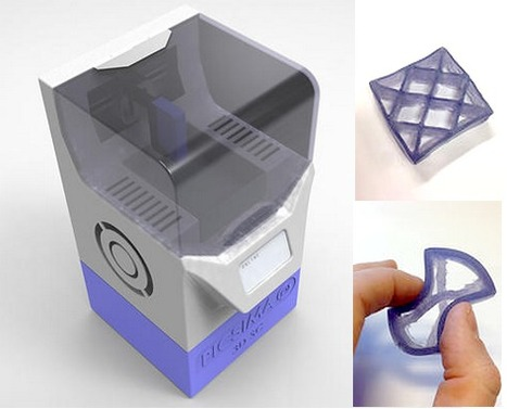 Next Generation 3D Printer: direct silicone | Additive Manufacturing News | Scoop.it