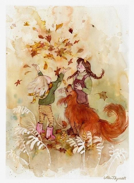 otoño_Ulla+Thynell.jpg (661×900) | Literacia no Jardim de Infância | Scoop.it