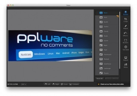 Fotor - Uma óptima ferramenta para melhorar imagens | Pplware | Science, Technology and Society | Scoop.it