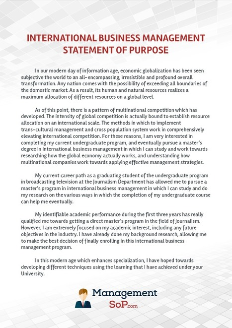 how to write essay statement of purpose
