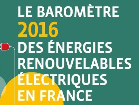Où en est l'électricité renouvelable en France ? | Acteurs de la transition énergétique | Scoop.it