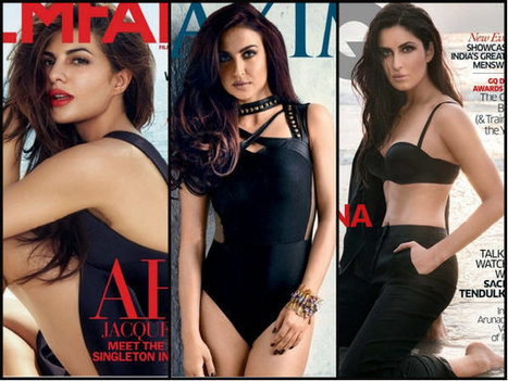 HOTNESS ALERT! 10 Hottest Magazine Covers Of December 2015, With Leading Bollywood Actresses - Filmibeat | Celebrity Entertainment News | Scoop.it