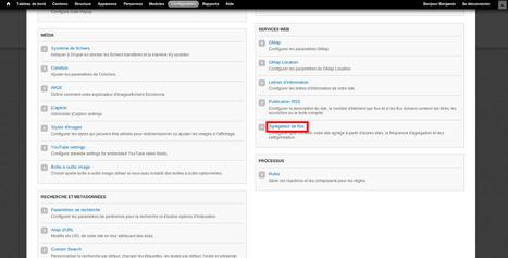 Syndiquer un flux RSS externe sur son site Drupal | RSS Circus : veille stratégique, intelligence économique, curation, publication, Web 2.0 | Scoop.it