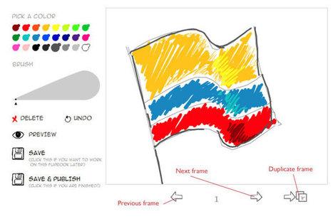 Flipbook! - create simple animations | omnia mea mecum fero | Scoop.it