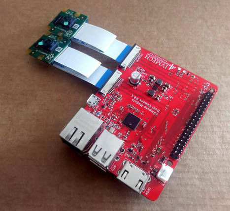 Ivport Stereo CM Breakout board for Raspberry P