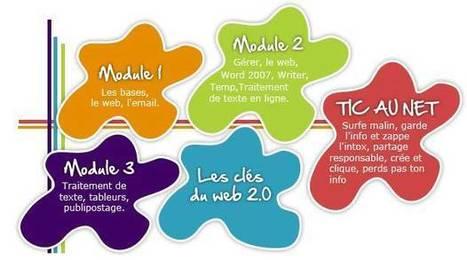 Modules de formation Tice pour débutants | L'université Numérique | Scoop.it