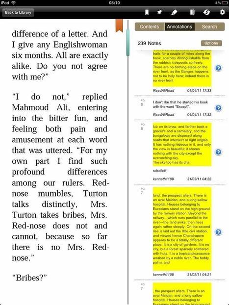 Bienfaits et méfaits des annotations partagées | SoBookOnline | Pédagogie documentaire et litteratie numérique | Scoop.it