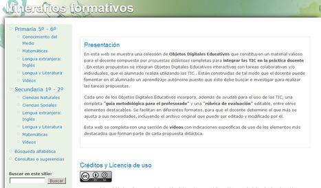 Objetos digitales educativos | Entornos Personales de Aprendizaje | Scoop.it