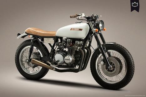 Kawasaki KZ 650 Cafe Racer ~ Grease n Gasoline