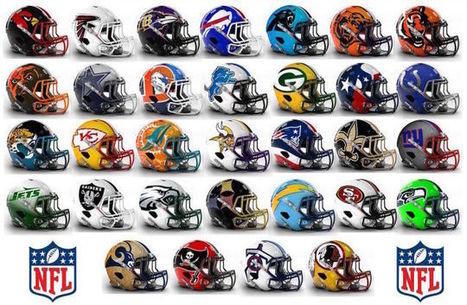 These NFL Helmet Concept Designs Are Definitely Bold   Art, Design, Social Media, Sex & Hangovers   Scoop.it