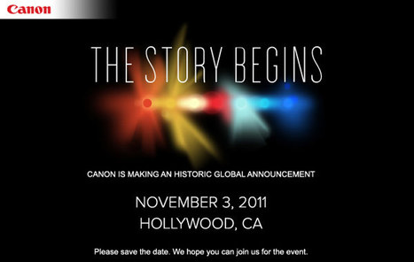 """4K or Bust: Canon's Nov. 3rd Camera 