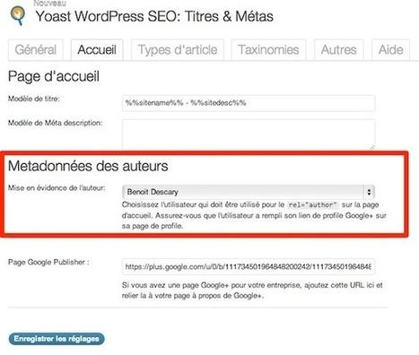 Préparez-vous à l'arrivée de l'AuthorRank [Wordpress] | François MAGNAN  Formateur Consultant | Scoop.it