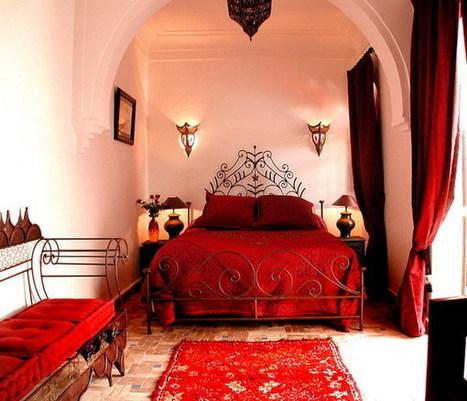 Moroccan Themed Bedroom Bring Exotic Desert In ...