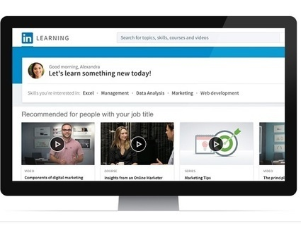 e-Learning – Linkedin se lance dans les Moocs | transition digitale : RSE, community manager, collaboration | Scoop.it