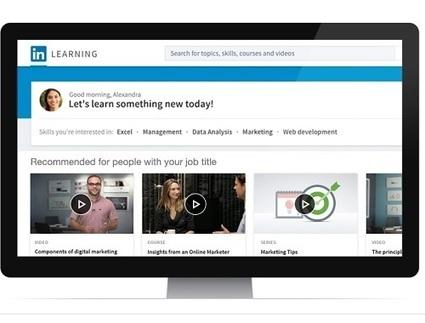e-Learning – Linkedin se lance dans les Moocs   transition digitale : RSE, community manager, collaboration   Scoop.it