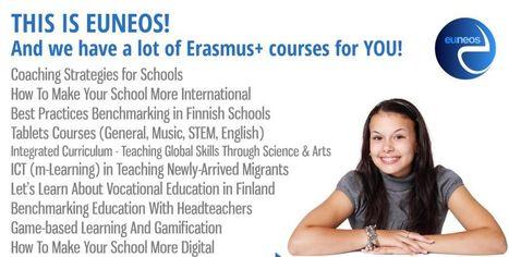 Erasmus+ KA1 #euneoscourses 2017-2019 | Tablet opetuksessa | Scoop.it