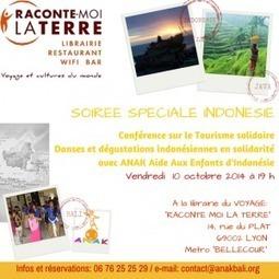 EVENEMENT Soirée Spéciale Indonésie et Bali à la librairie Raconte Moi La Terre Lyon | Scoop Indonesia | Scoop.it