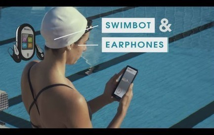 Swimbot, un coach intelligent pour mieux nager - News Forme & Sport - Doctissimo | Sport et innovation | Scoop.it