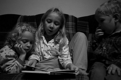 Les relations parents-enfants plus épanouies avec la lecture de livres papier | Thrillers + | Scoop.it