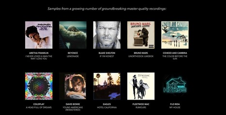 Tidal launches 'master-quality' streaming with MQA - Music Business Worldwide | A Kind Of Music Story | Scoop.it