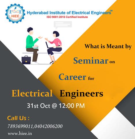 Electrical Engineering Job Training In Hieetraining Scoop It
