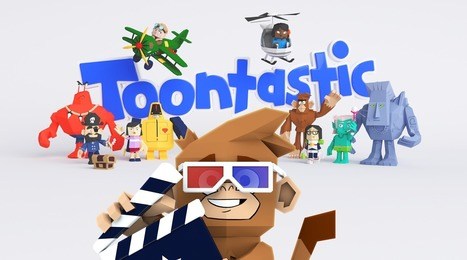 Introducing Toontastic 3D: a playful storytelling app for kids | Learning Happens Everywhere! | Scoop.it