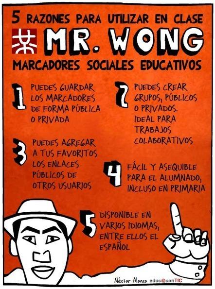 5 razones para utilizar Mister Wong | Nuevas tecnologías aplicadas a la educación | Educa con TIC | EDUDIARI 2.0 DE jluisbloc | Scoop.it