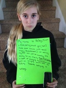 Mom catches daughter bullying classmates, hands out new millennium punishment | Bullying | Scoop.it
