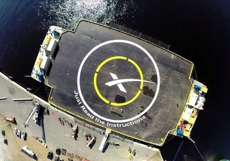 Don't expect SpaceX to land its Falcon 9 rocket on its next launch mission | Communication design | Scoop.it