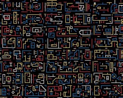 UrbA // ActU: L'ADN de la ville par Lu Xinjian - Peinture et Cartographie | The Architecture of the City | Geomatic | Scoop.it