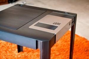 Una mesa con forma de disco floppy | Inocuidad de alimentos | Scoop.it