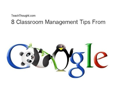 8 Classroom Management Tips--From Google?   Classroom management   Scoop.it