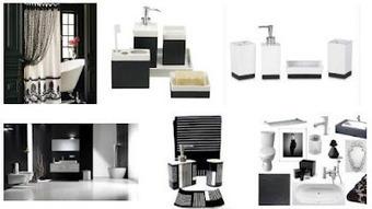 Black And White Bathroom Ideas   Decorating Bathroom   Scoop.it