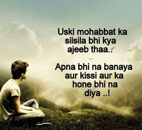 Sad Shayari | Sad Shayari in Hindi | Whatsapp S...