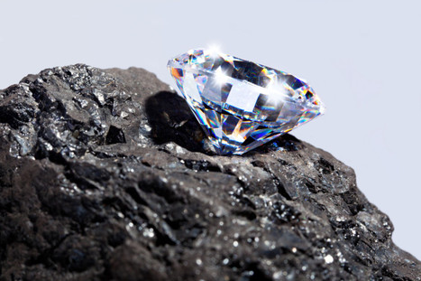 Deep-Earth carbon offers clues on origin of life: New organic carbon species linked to formation of diamonds -- and life itself | Science technology and reaserch | Scoop.it