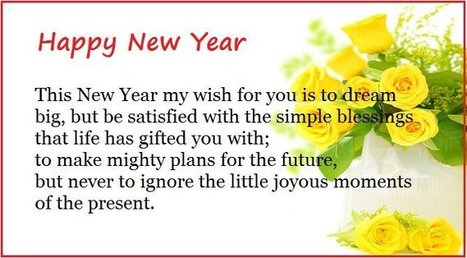happy new year message to loved one