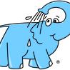 Eléphant Bleu 2