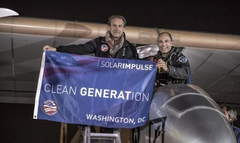SOLAR IMPULSE - AROUND THE WORLD IN A SOLAR AIRPLANE | Aerospace Innovation & Technology | Scoop.it